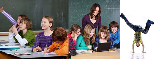 Unsere 4 Bs: Bildung, Betreuung, Bewegung, Beruf